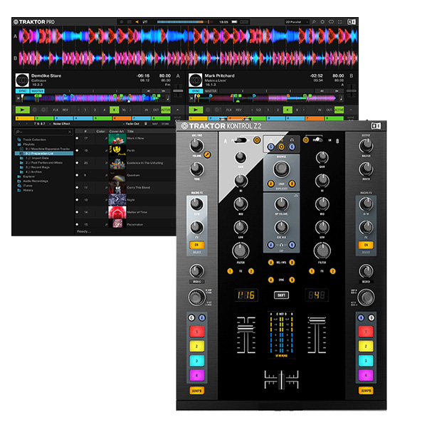 TRAKTOR Kontrol Z2 / Native Instruments(ネイティブインストゥルメンツ)  【 TRAKTOR SCRATCH PRO 2 同梱】 DVS対応DJミキサー